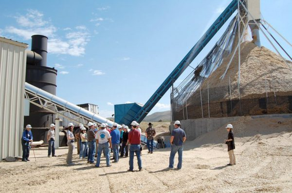 Confluence Energy biomass processing facility in Kremmling, Colorado